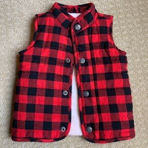 ⭐️ Buffalo Plaid Puffer Quilted Vest ⭐️